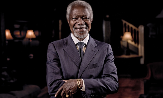 Kofi Annan: Eat Bugs To Stop Global Warming